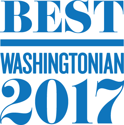Horst Best of Washingtonian Badge